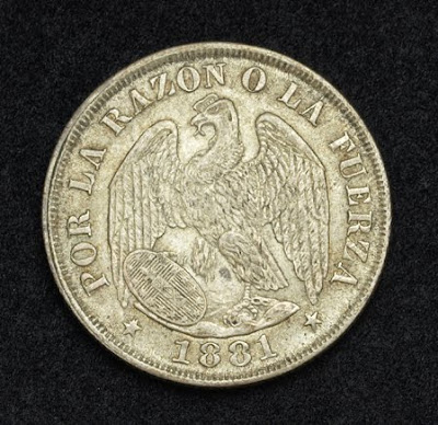 Chile Silver 20 Centavos Coin buy sell