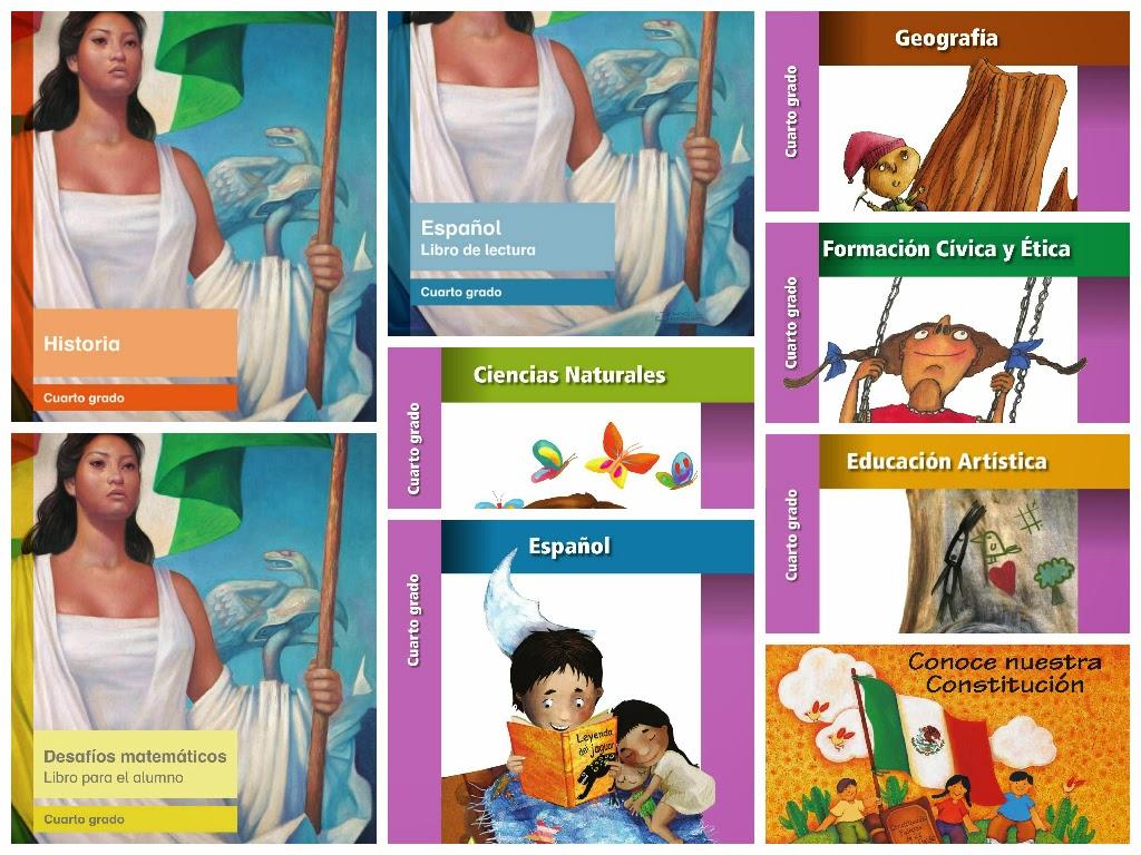 libros de texto digitalizados para cuarto grado primaria