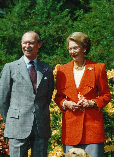 Royalement blog 40 ans de mariage de jean et jos phine charlotte - 9 ans de mariage noce de quoi ...