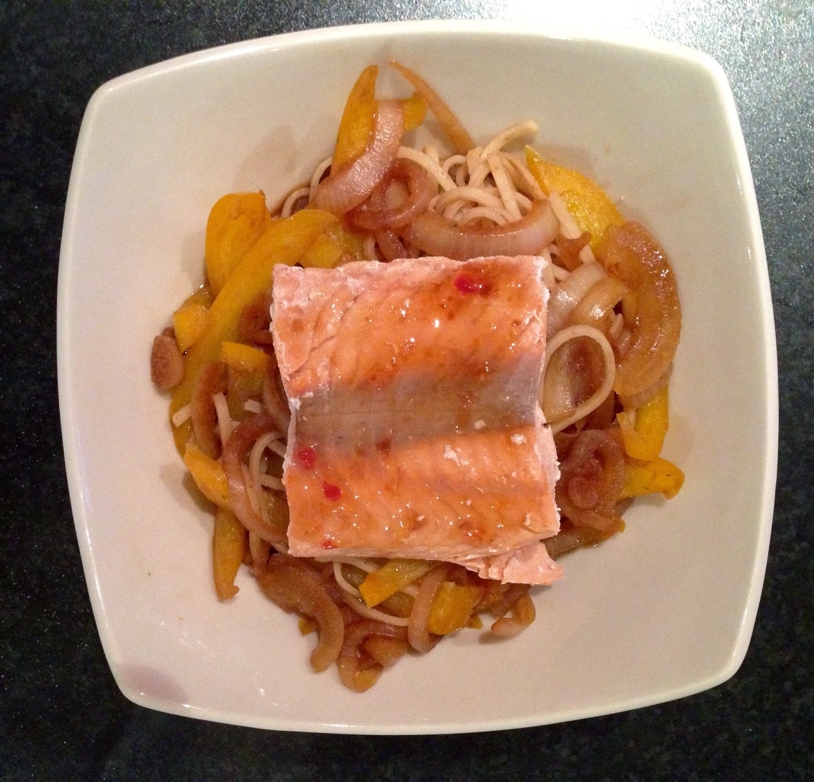 Salmon Buckwheat Noodles Healthy What I Eat in a Day Glasgow Girls Guide