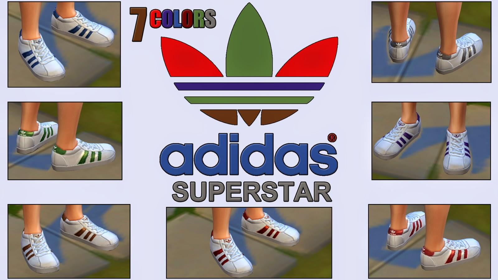 sims 4 adidas superstars