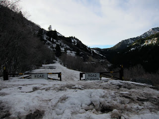Road Closed - Alpine Loop