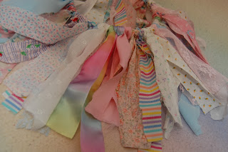 finished scrap fabric tutu