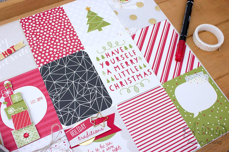 Seasonal Snapshot Holiday 12x12 Decor ~ Susan Wong