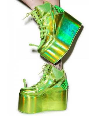 Alien Platform Shoes
