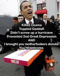 obama donuts
