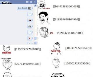 kode-kode emoticon facebook terbaru