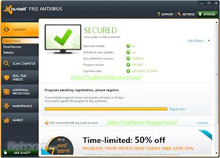Avast,Free Antivirus 7