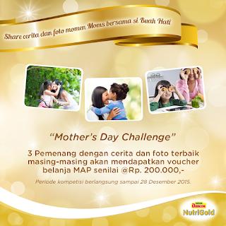Kuis Dancow Hari Ibu Berhadiah Voucher MAP Total 600K