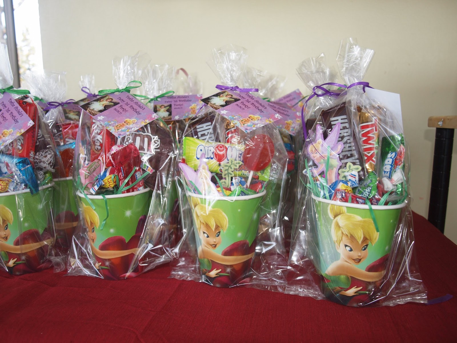 kisses and crafts     my sweet escape  tinkerbell themed party