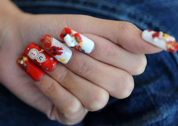 christmas nail art designs-10