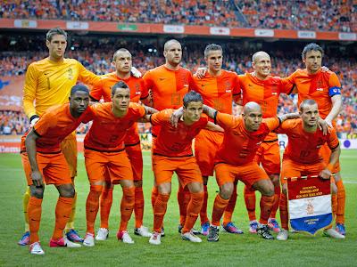 Skuad Tim Belanda di Euro 2012