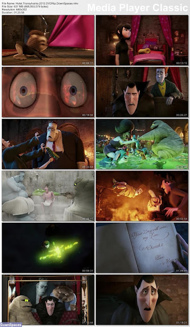 Hotel TransylVania HDRip 1.39 Gb | DvdRip 600 Mb Torrent Download