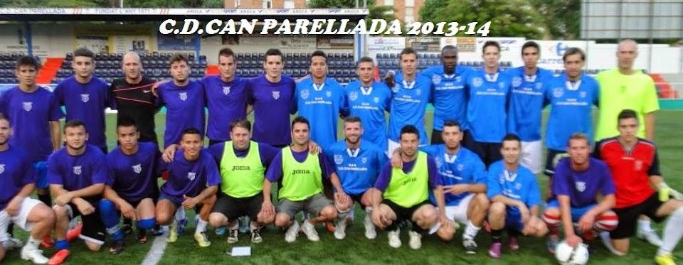 C.D. CAN PARELLADA 2013-14