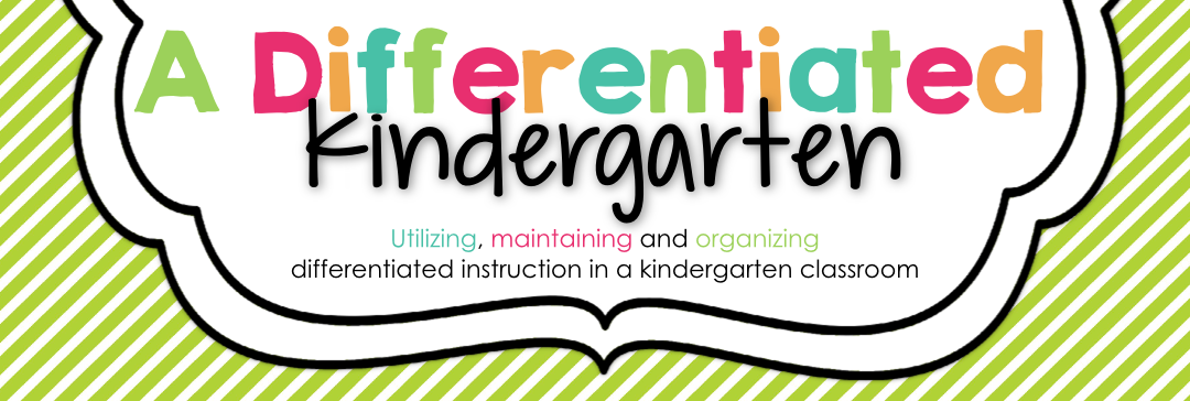 A Differentiated Kindergarten