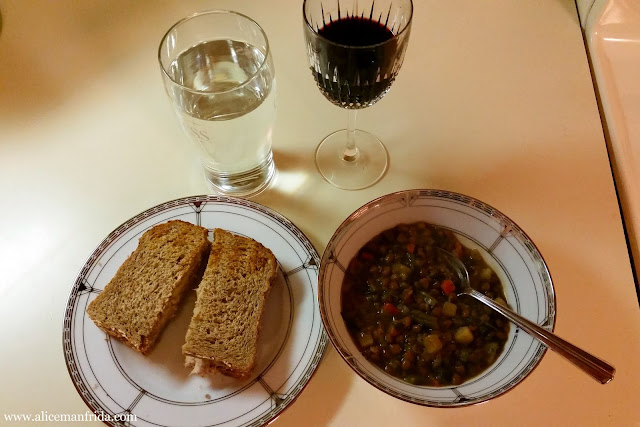 Tasty Tuesday, What I Ate, food diary, simple, easy, supper, dinner, soup, sandwich
