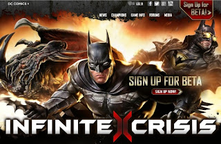 Infinite Crisis multiplayer online game from Turbine
