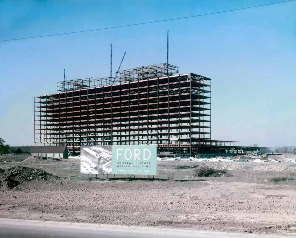 Ford itek building dearborn for Ford motor company corporate office