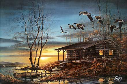 Terry Redlin Autumn Evening7