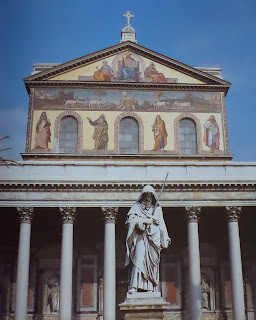 Basilica de San Pablo extra muros. Iglesias de Roma.
