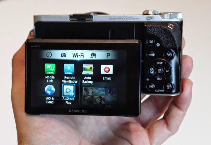 Desain Samsung NX300
