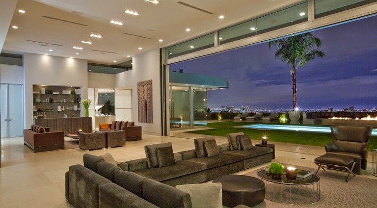 Casa minimalista Beverly Hills / McClean Design ...