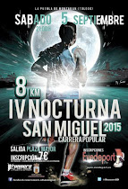 IV Carrera Nocturna San Miguel, de La Puebla de Montalbán