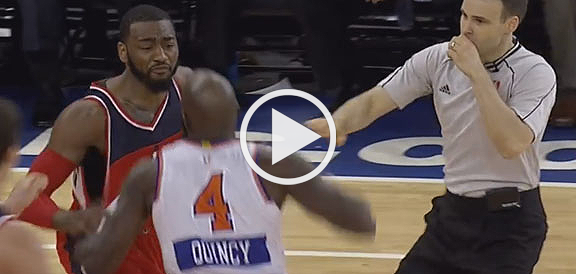 THROWBACK: Quincy Acy Throws Punch at John Wall on Christmas Day (VIDEO)