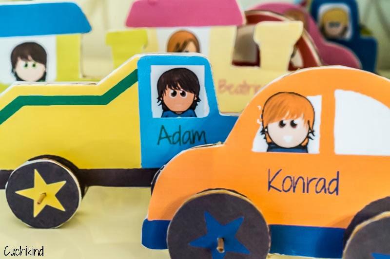 Kindergeburtstag Basteln Auto