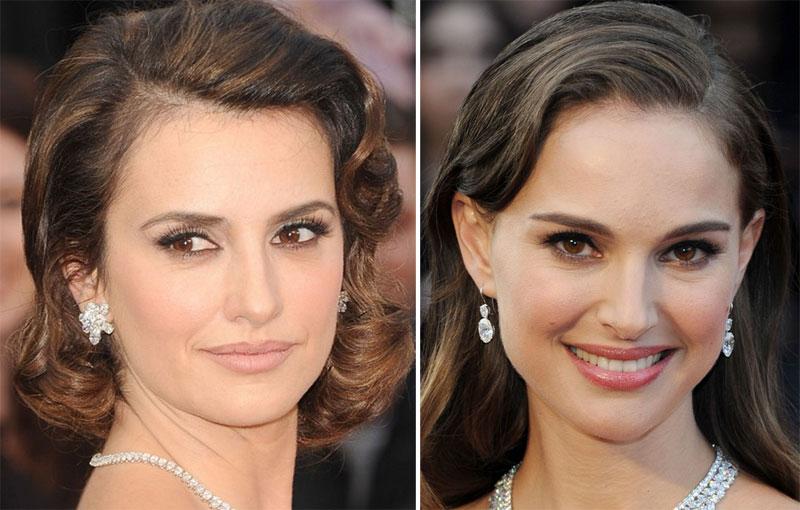 make6 As melhores maquiagens do Oscar 2012