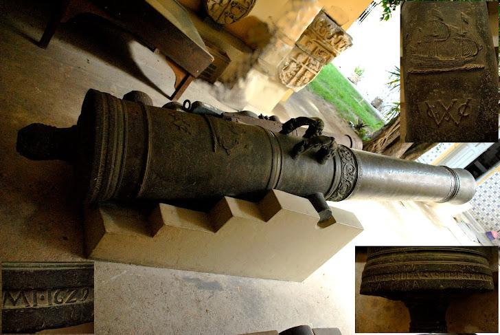 Canhão holandês da Cia. das Índias Ocidentais
