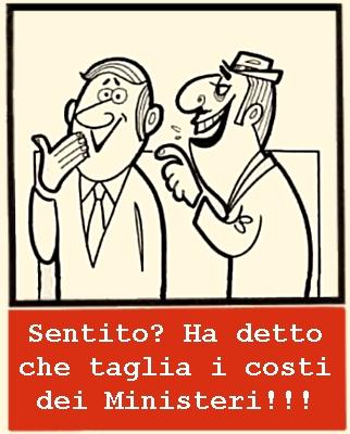 Monti: l'Italia ride