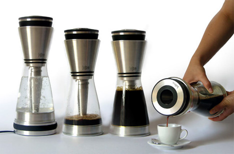 New Coffee Maker Design : 15 Creative Hourglass Inspired Products and Designs.