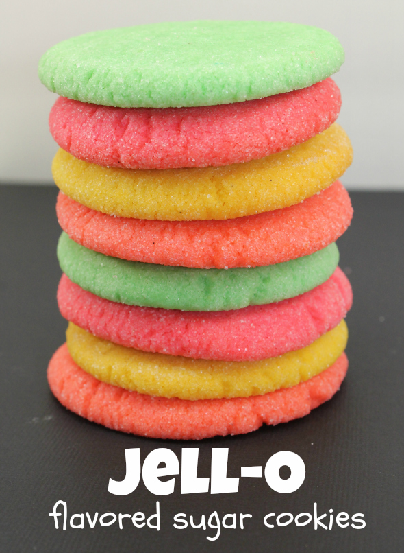 Jell-O Flavored Sugar Cookies - super easy and fun to make! @ ...