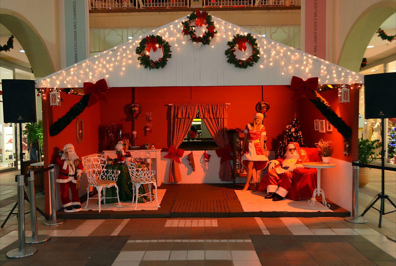 decoracao cozinha natal:Centro de compras resgata tradição familiar na cozinha do Papai Noel