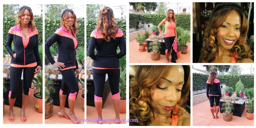 Lookbook/Fashion ~ Urban Decay Vice 3 Palette with Neon Fitness Wear