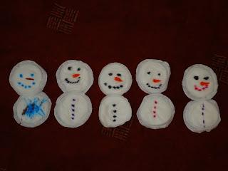 Breastpad Snowmen