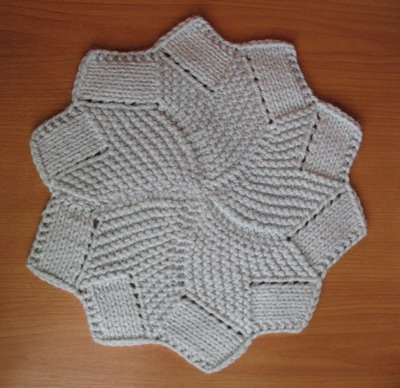 Ravelry: Knitted Coaster pattern by Miriam Pike