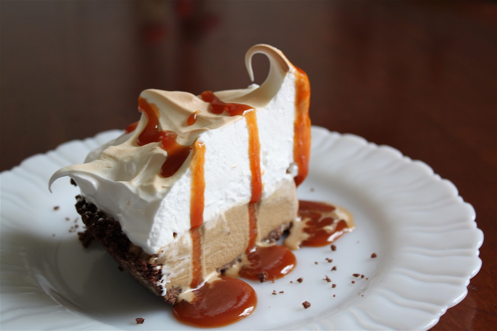 ... than pie: catching up with pie #12; butterscotch baked alaska pie