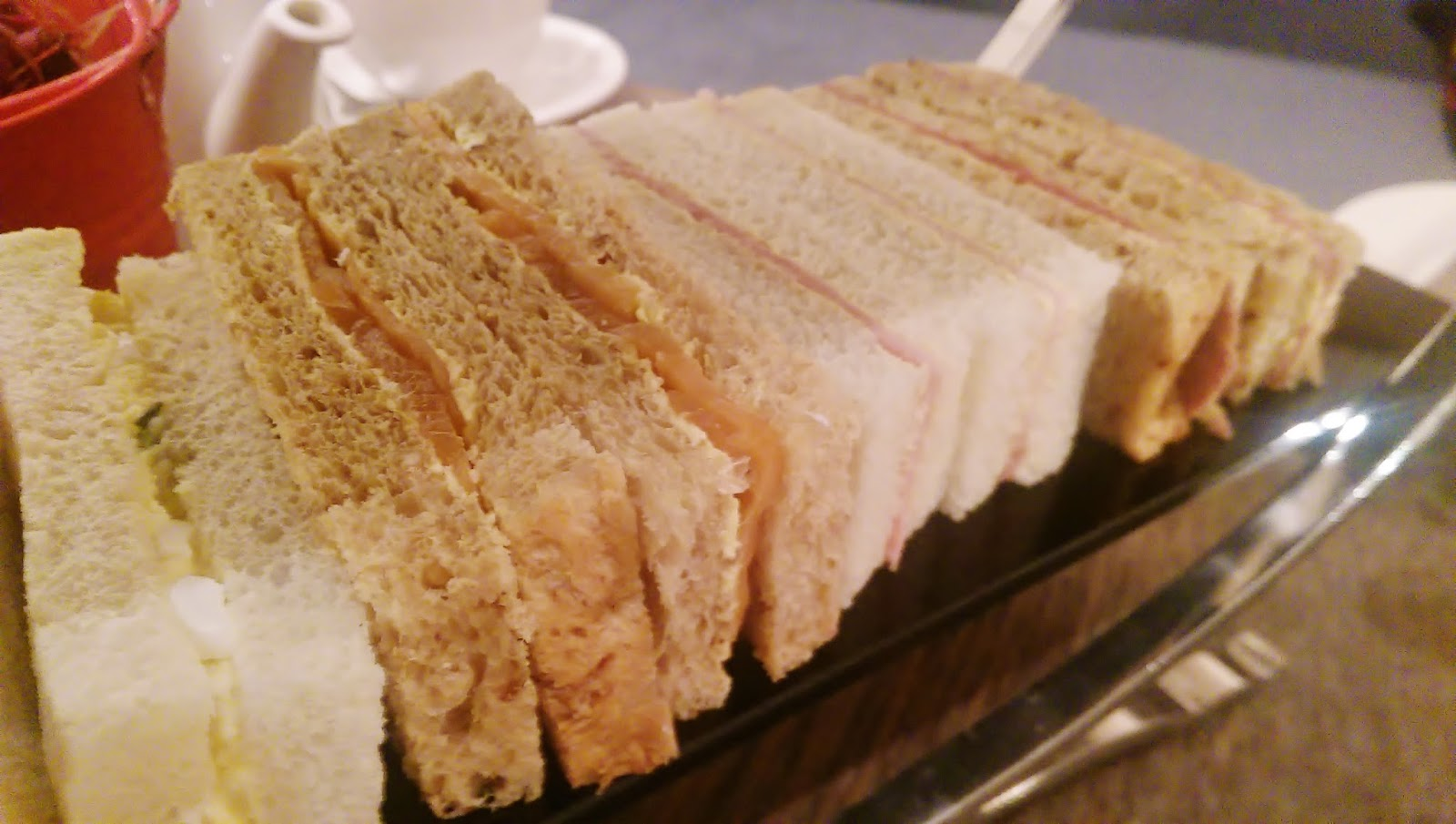 Hilton Glasgow Afternoon Tea Sandwiches