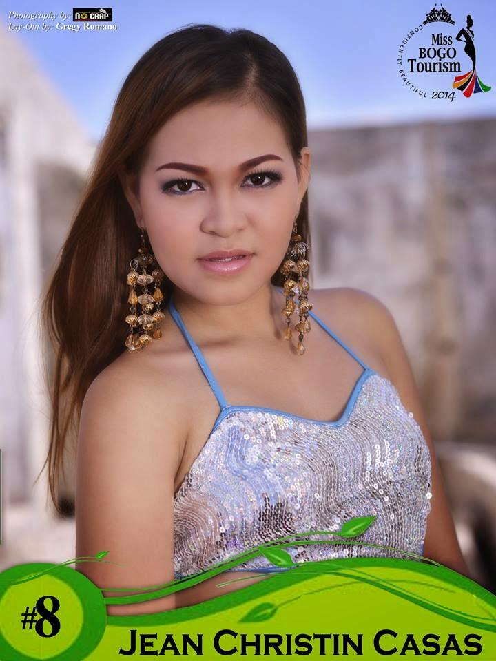 Jean Christin Casas - Miss Bogo Tourism 2014