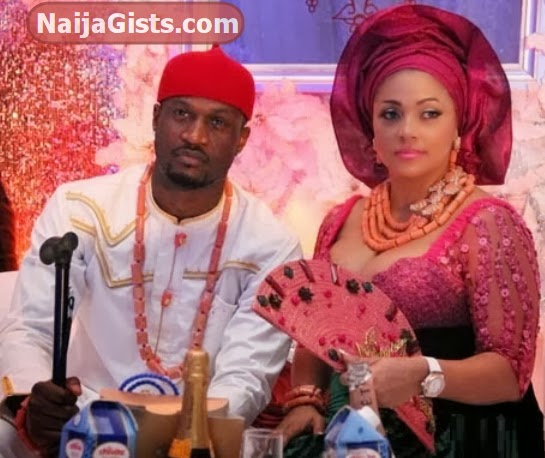 peter okoye wedding vow