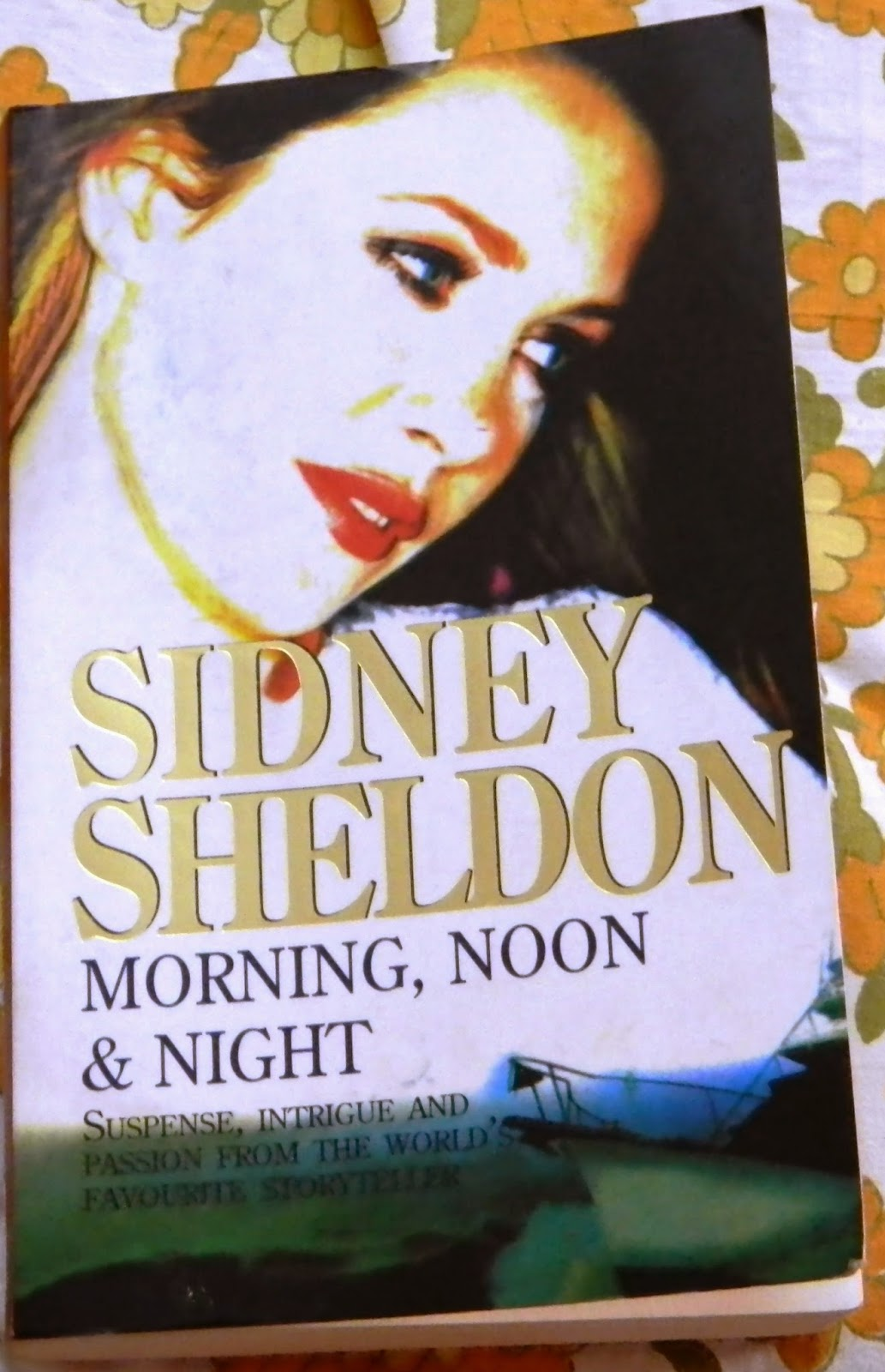 Morning, Noon & Night by Sidney Sheldon cover