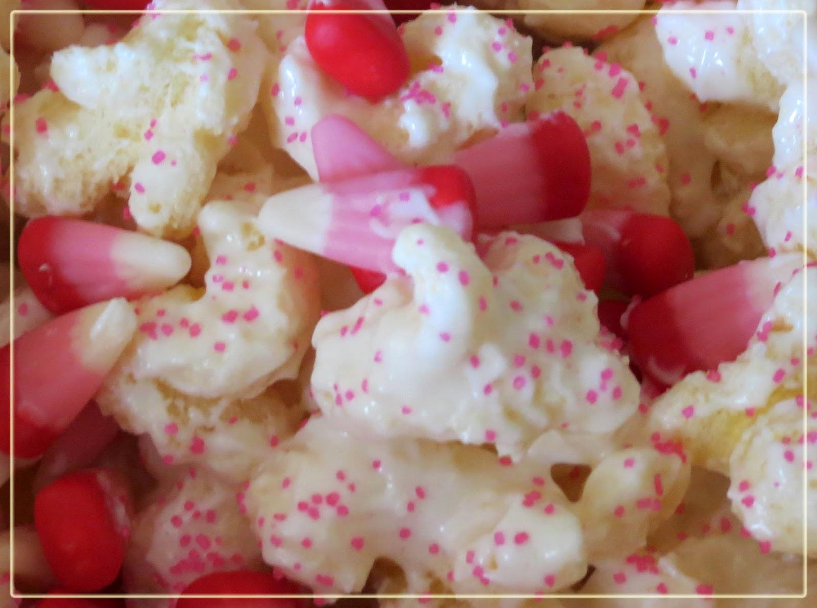 Rebekah's EaTs & TrEaTs: White Chocolate Puff Corn