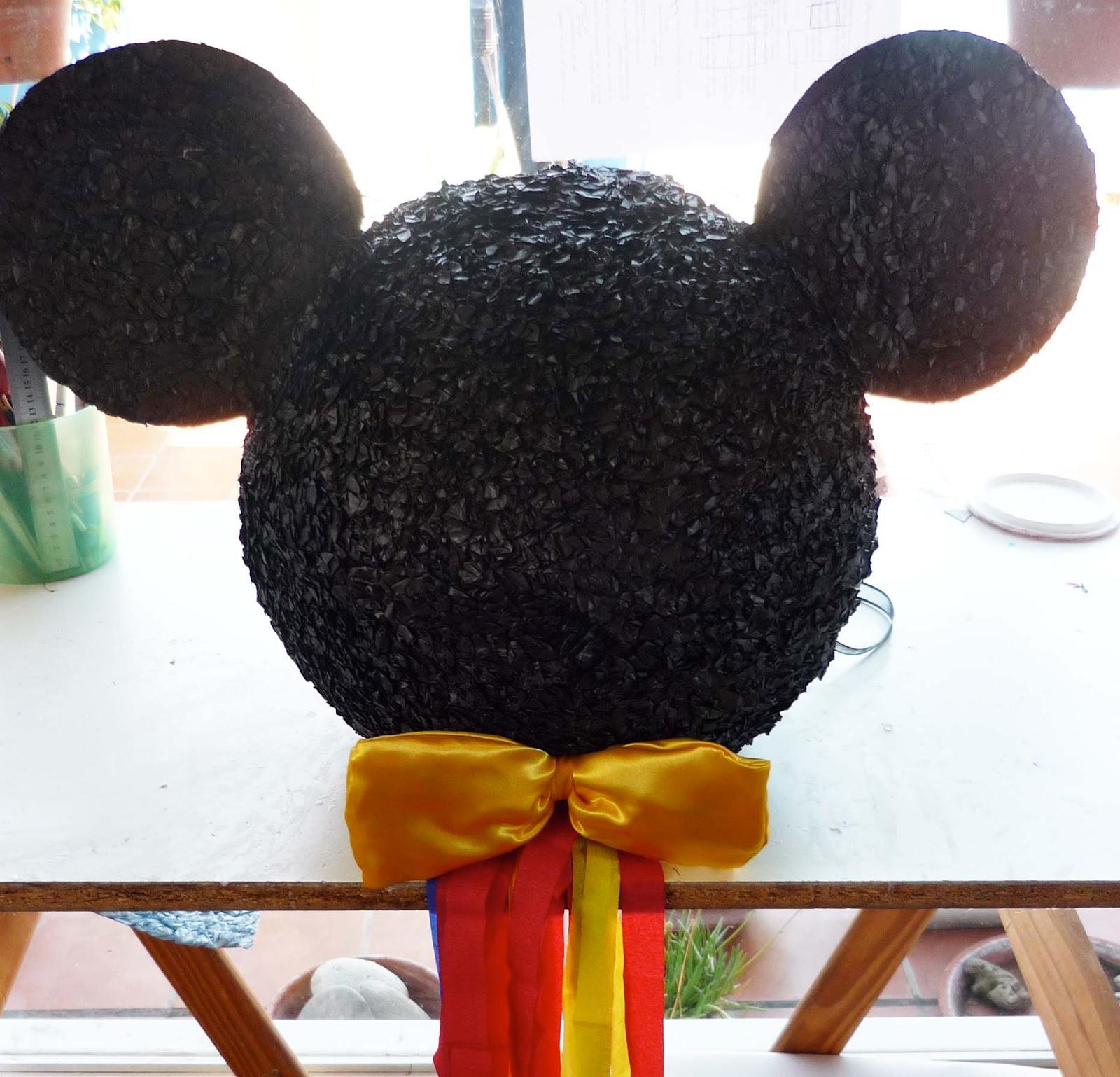 Piñatas de Mickey Mouse paso a paso - Imagui