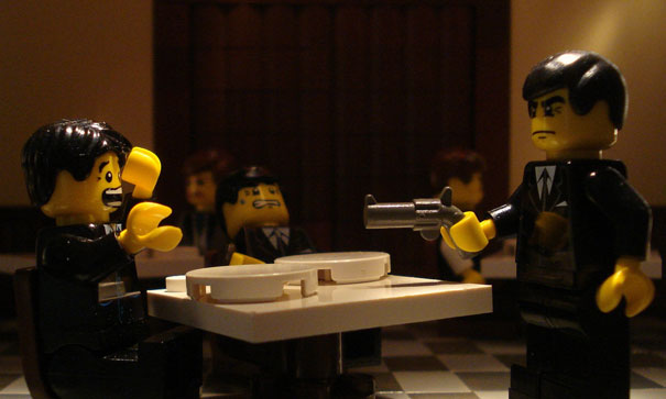 famous movie scenes recreated in lego omygad