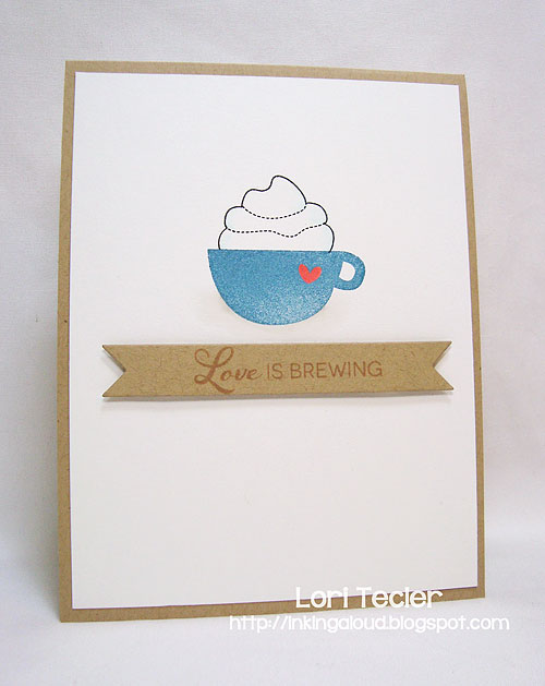 Love Is Brewing-designed by Lori Tecler-Inking Aloud-stamps and dies from Clear and Simple Stamps