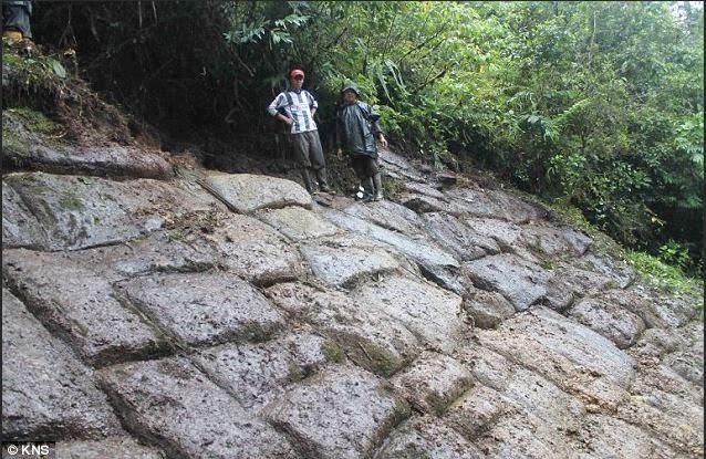 Η μυστηριώδης δομή στη ζούγκλα του Αμαζονίου