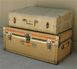Suitcase &amp; Trunk (SOLD)