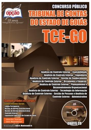 Apostila completa Tribunal de Contas do Estado de Goiás todos os cargos TCE